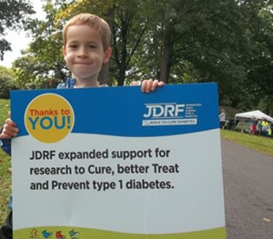 TDN टीम परिवार के सदस्य हमारे स्थानीय JDRF चलने में