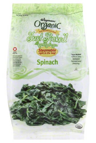 Wegmans Frozen Spinach