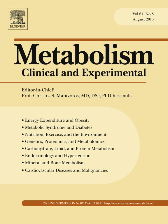 Journal: Metabolism, August 2015