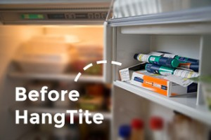 Photo of Insulin in Fridge Before HangTite