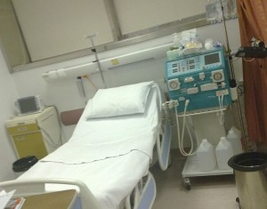 Photo of Bedside Dialysis - Finding May Delay Dialysis for Millions with Type 2 Diabetes