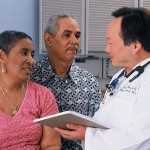 Photo of Couple with Doctor - Study: Type 2 Diabetes Reversed in Trial